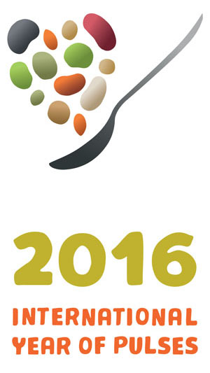 UN's 2016International Year of Pulses logo
