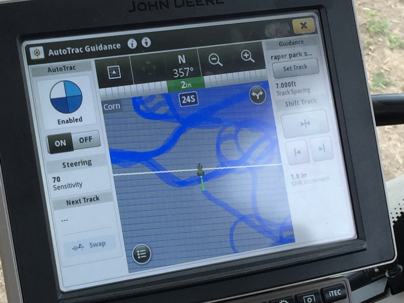GPS isn't just for road trips anymore | Crop Science Society of America