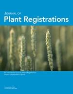 Journal of plant registration cover